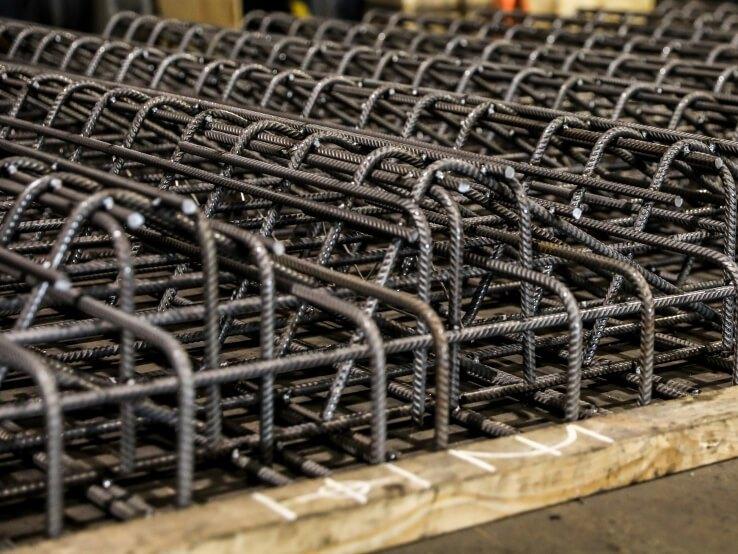 Prefab wapeningsstaal voor betonindustrie
